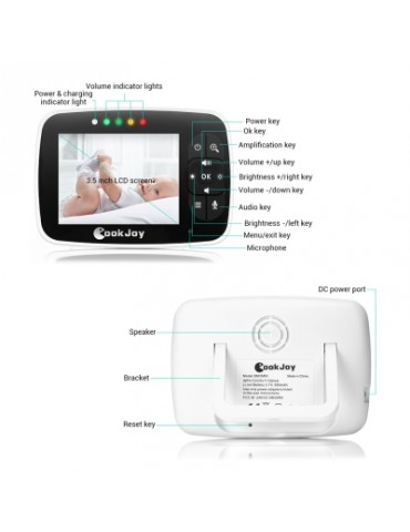 COOKJOY SM35RX Video Baby Monitor