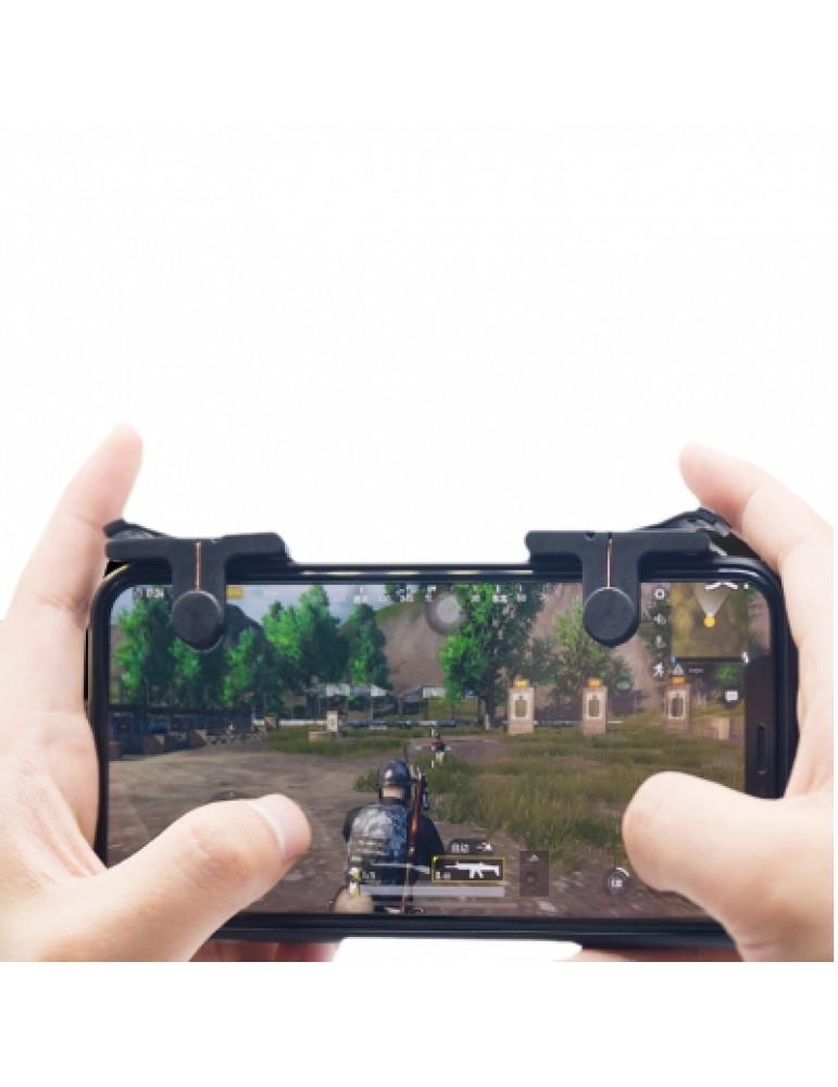 Pair of Mobile Game Controller Sensitive Shoot and Aim Keys