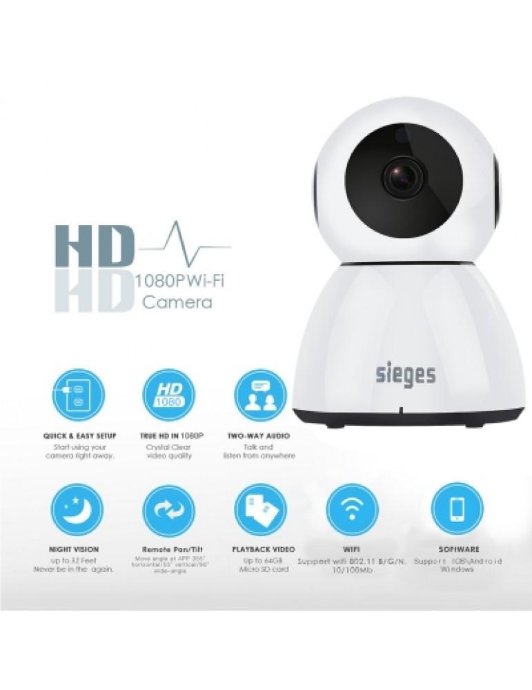 Wireless Pan Tilt HD 1080P Security Network CCTV IP Camera Night Vision WIFI OR